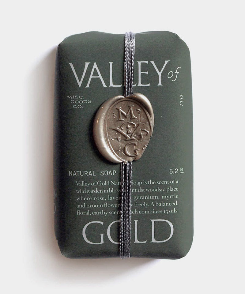 Valley of Gold Natural Soap