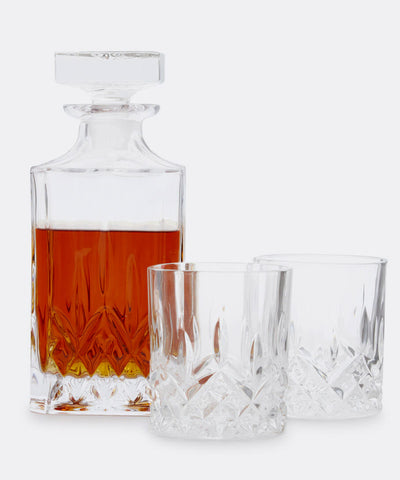 3-Piece Decanter & Tumbler Set