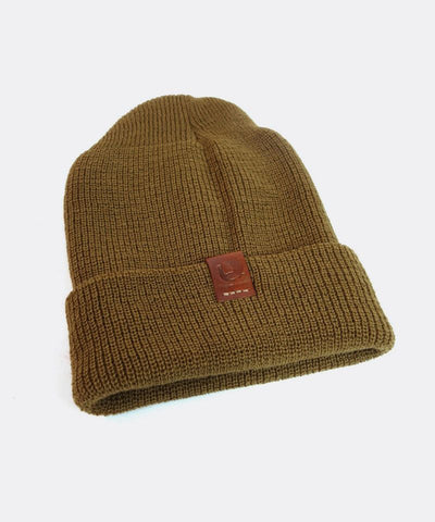 Wool Watch Cap in Coyote