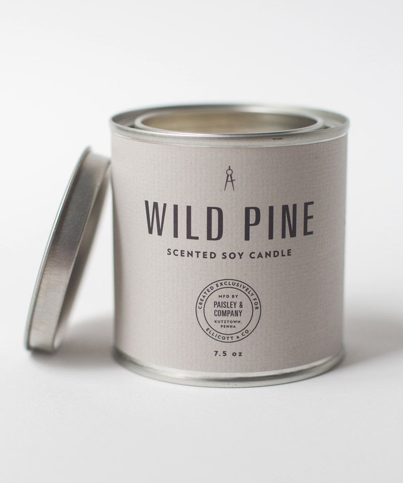 Wild Pine Candle