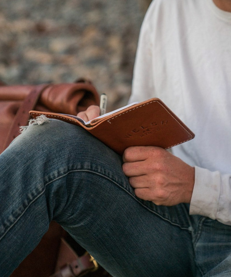 Leather Memo Journal