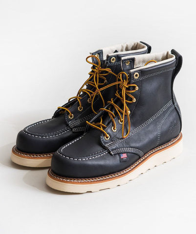 Black Mocc Toe Boot