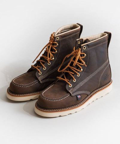 Brown Mocc Toe Boot