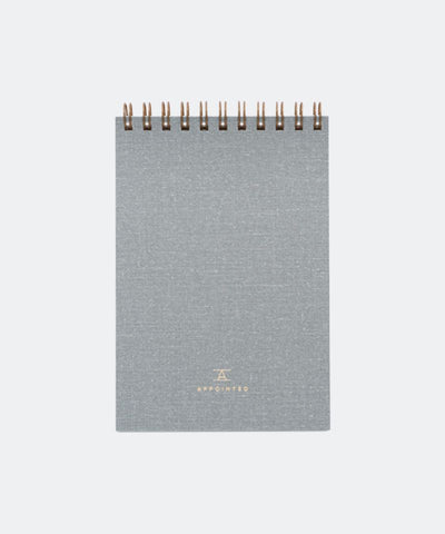 Pocket Notepad in Dove Gray