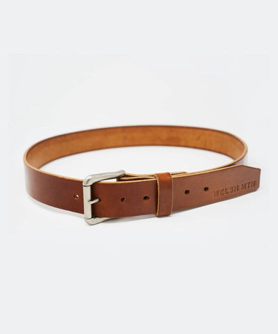 Leather Single Tongue Belt
