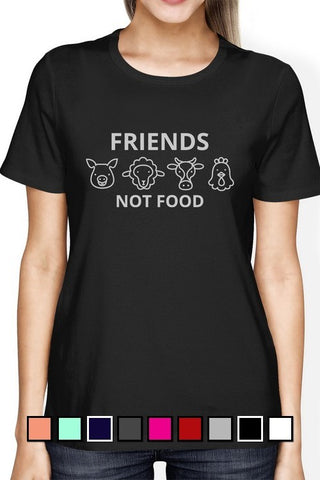 Friends Not Food Graphic Tee