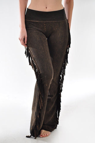 T-Party Fringe Pants
