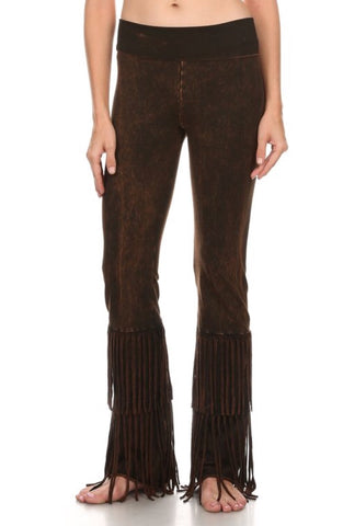 T-Party Fringe On Bottom Festival Pants