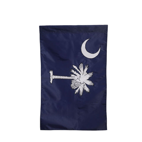 "South Carolina (State) Palmetto Tree 28"" X 44"" Navy House Flag"