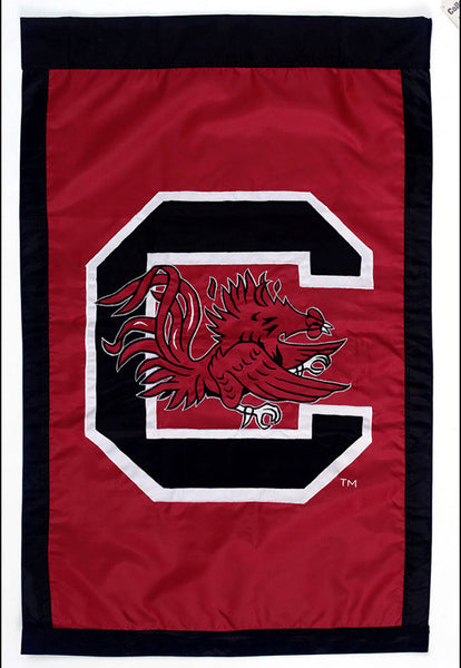 "University of South Carolina 28"" X 44"" Garnet & Black House Flag"
