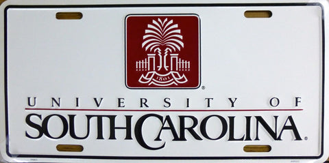 University of South Carolina License Plate