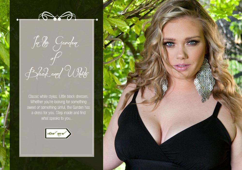 In the Garden of Black and White Plus Size Lookbook 2013 – SWAK Designs