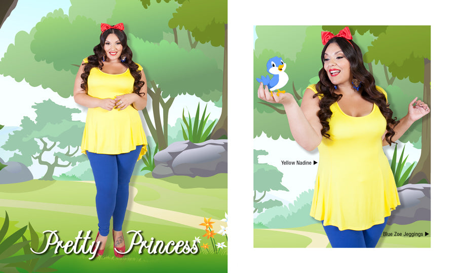Plus Size Princess