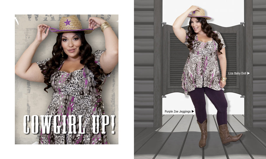 Cowgirl UP Plus Size