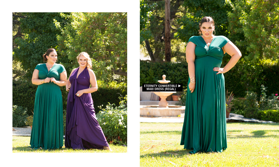 Plus Size Maxi Eternity