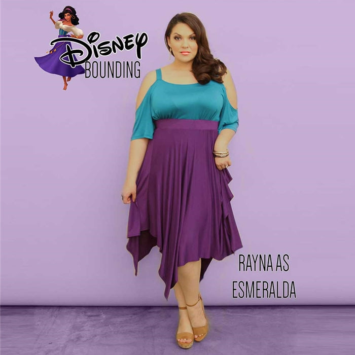 plus size disney bounding