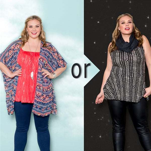 day to night | plus size