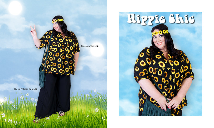 Plus Size HIppie