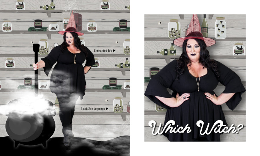 Plus Size Witch