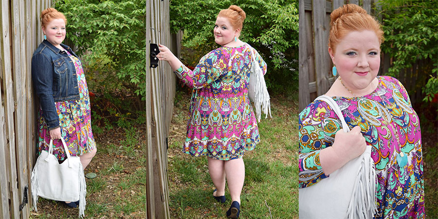 Idelic Plus Size Dress