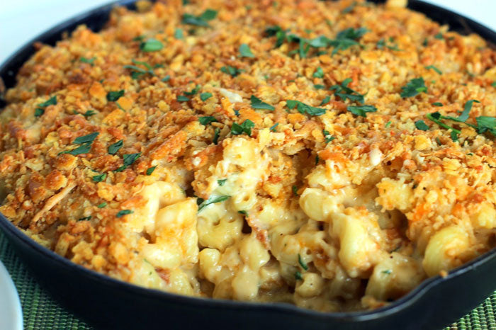 Plus Size BBQ Mac n Cheese