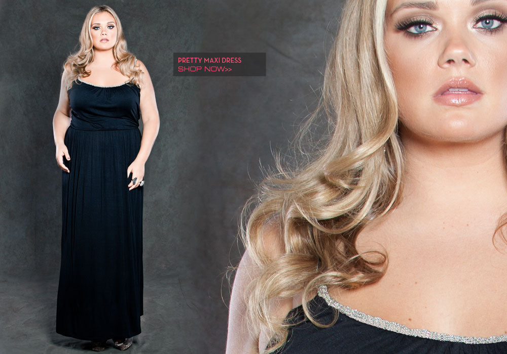 Plus Size Pretty maxi