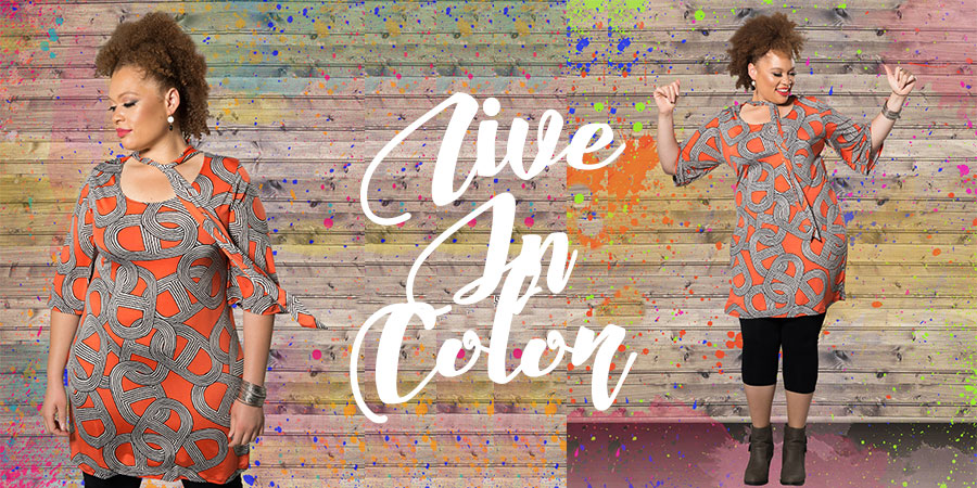 Live in Color | Plus Size Fashion
