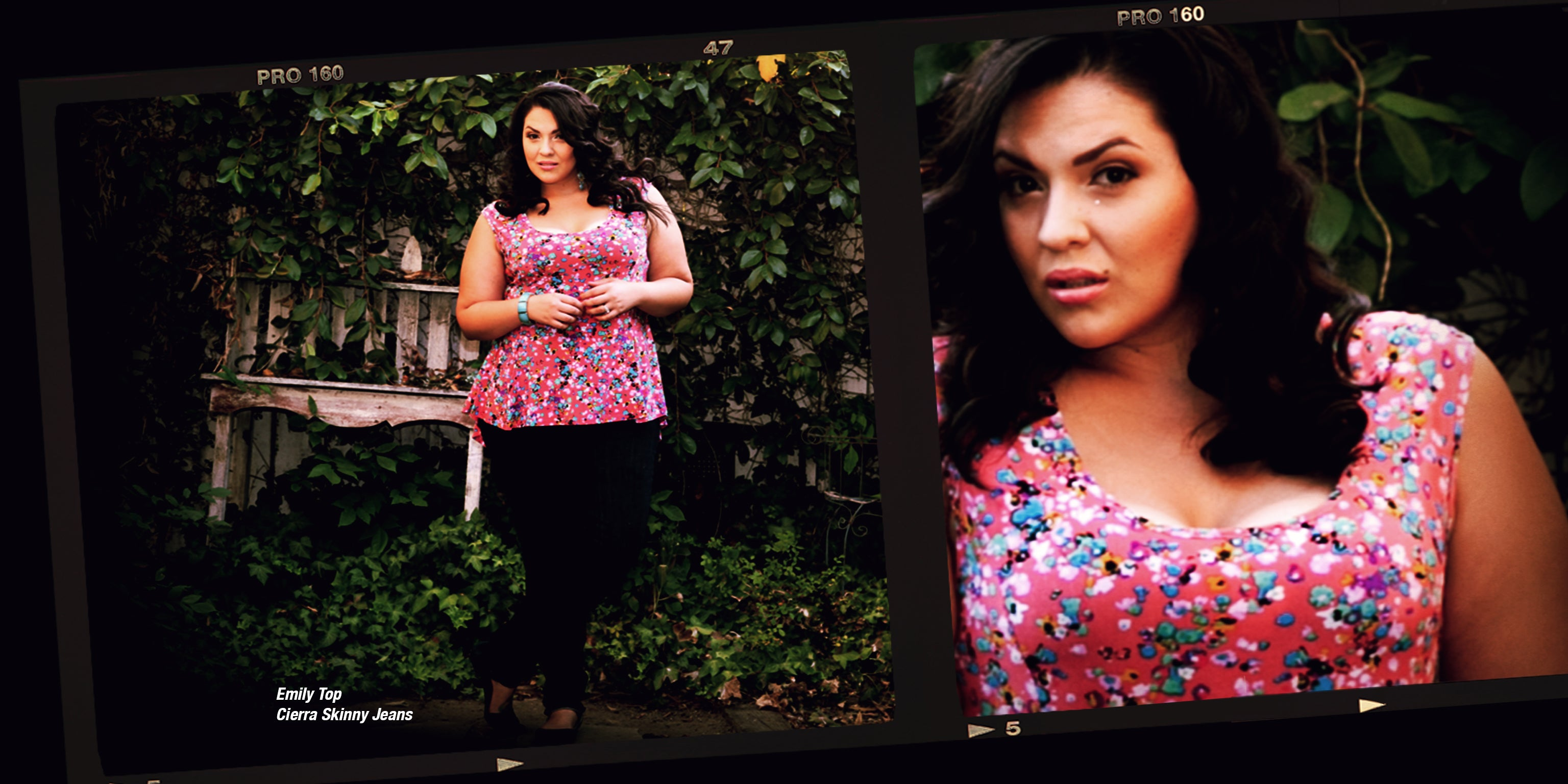 Dark plus size lookbook