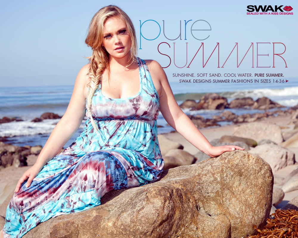 Plus Size Pure Summer Lookbook