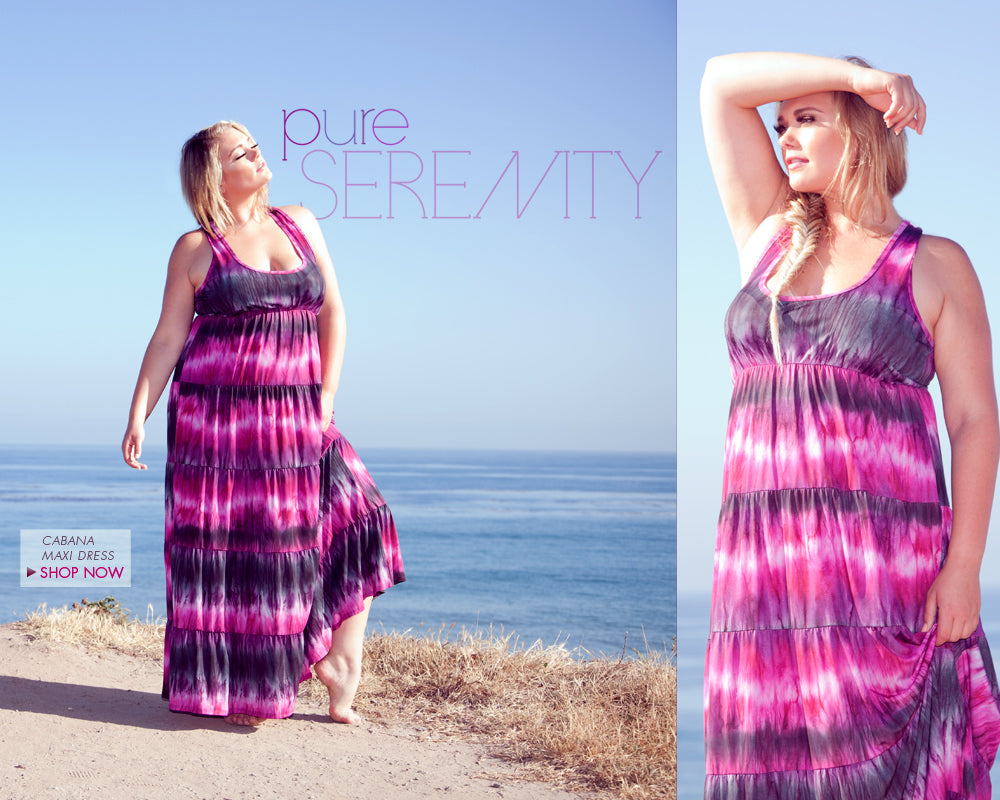 plus size pure serenity