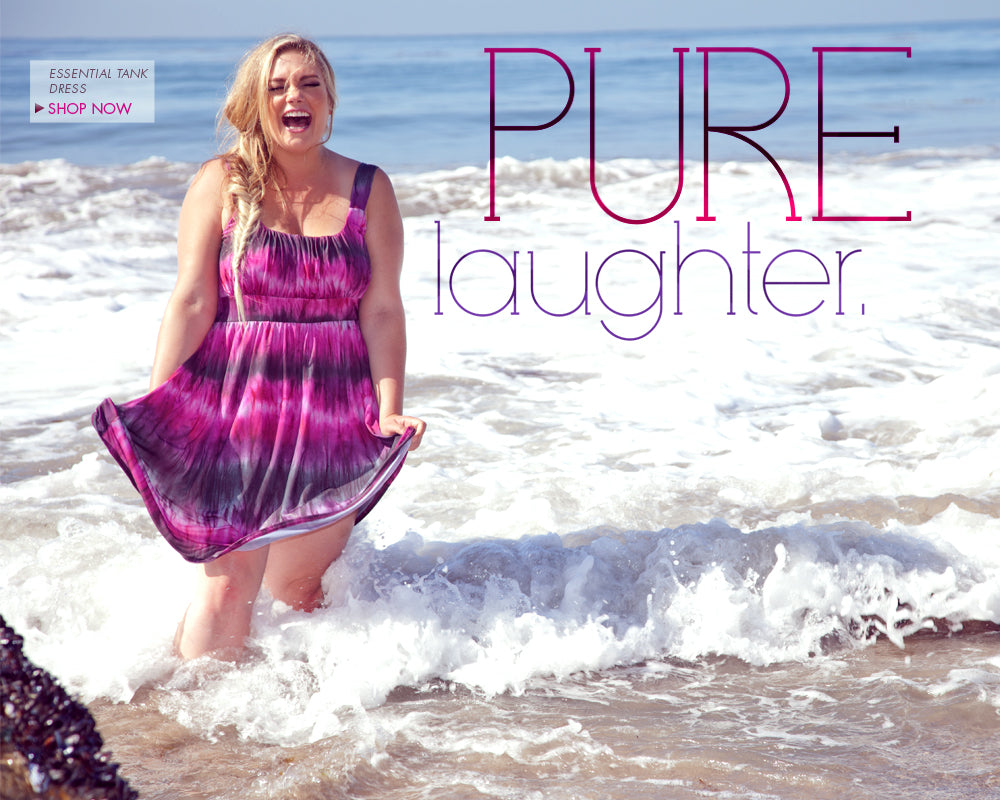 plus size pure laughter