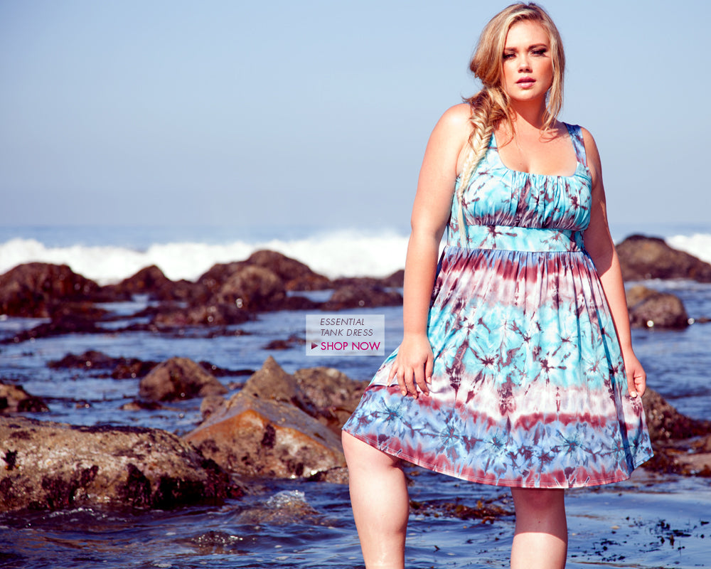 plus size essential tank dress