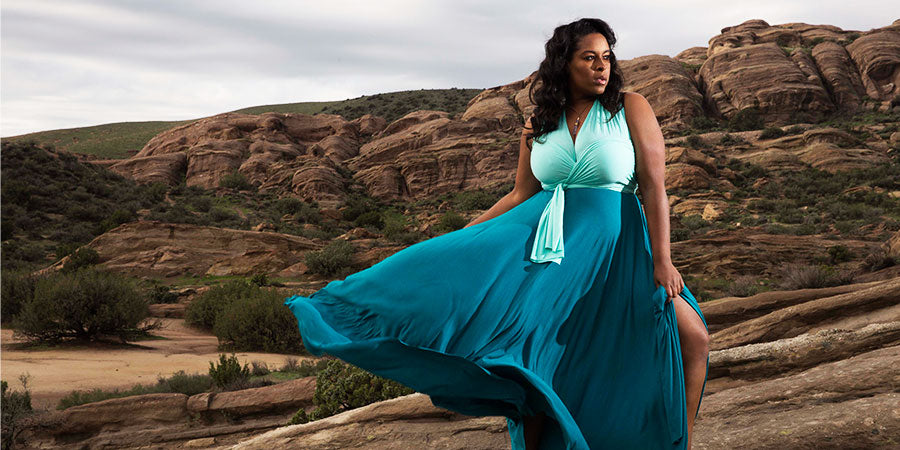 eternity plus size dress