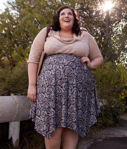 plus size outfit natural 2 piece