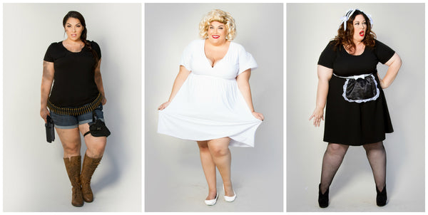 Plus size mature fashion