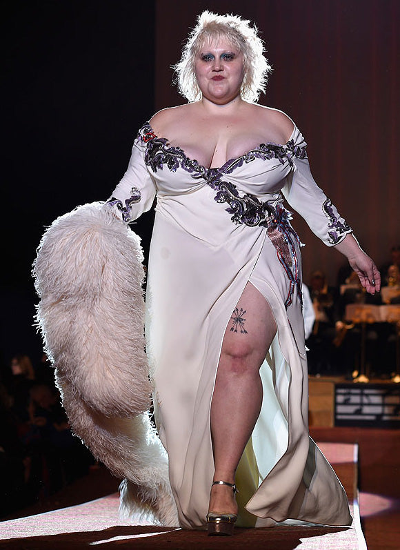 Beth Ditto Plus Size Runway