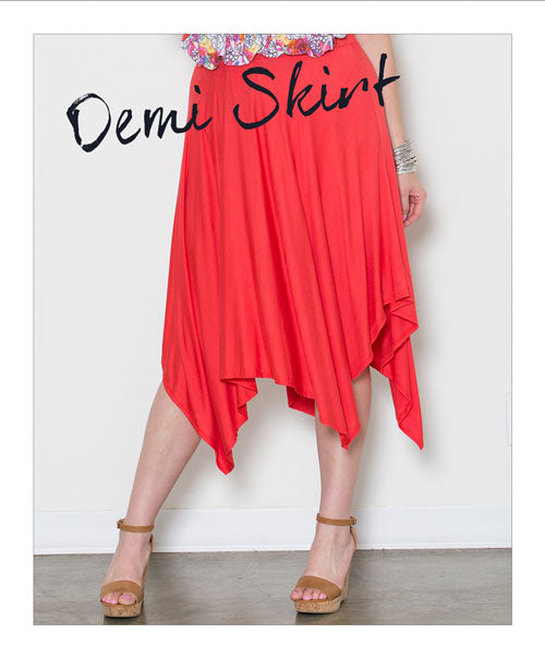 Plus Size Demi Skirt
