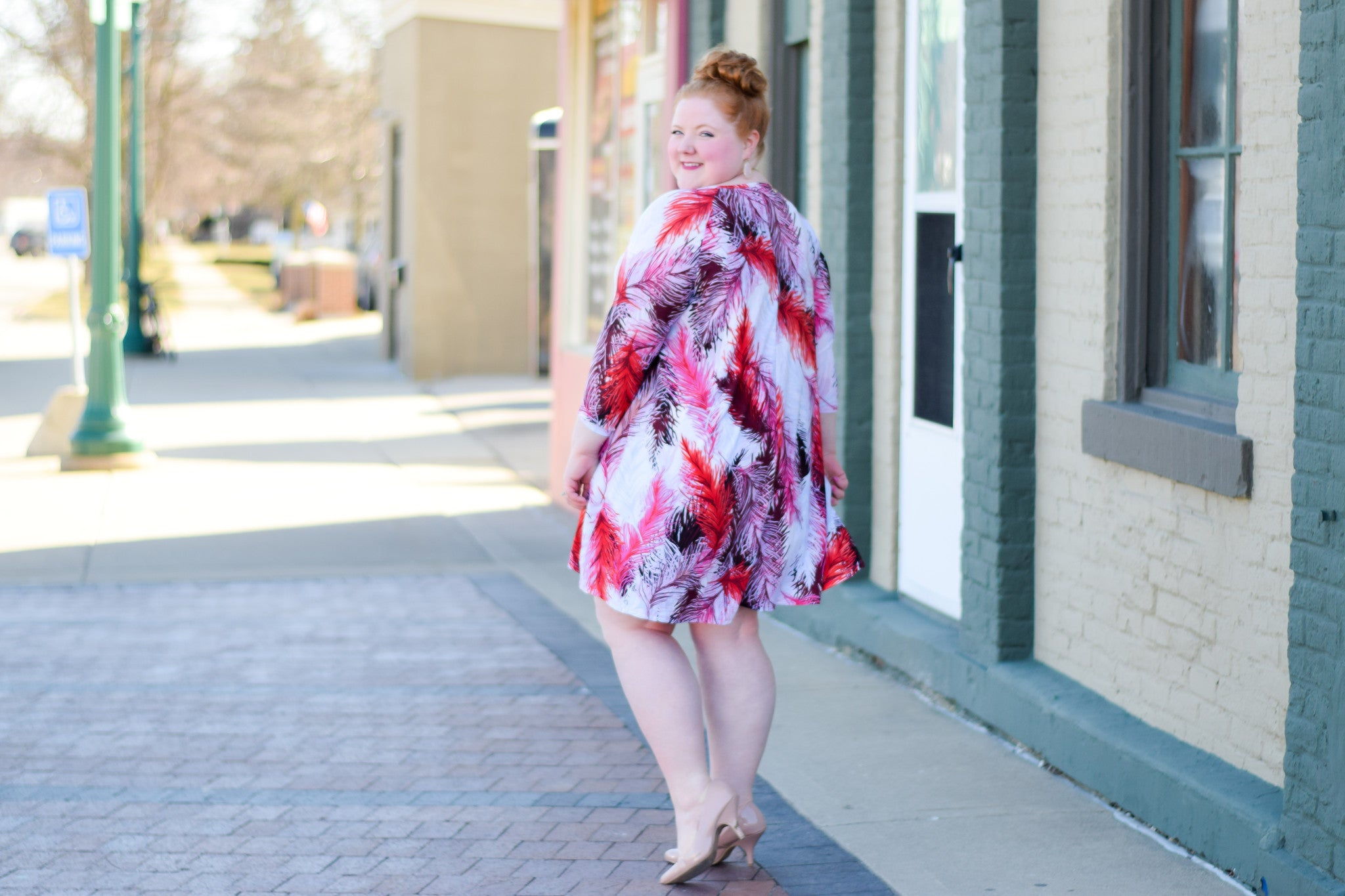 plus size dress on with wonder and whimsy
