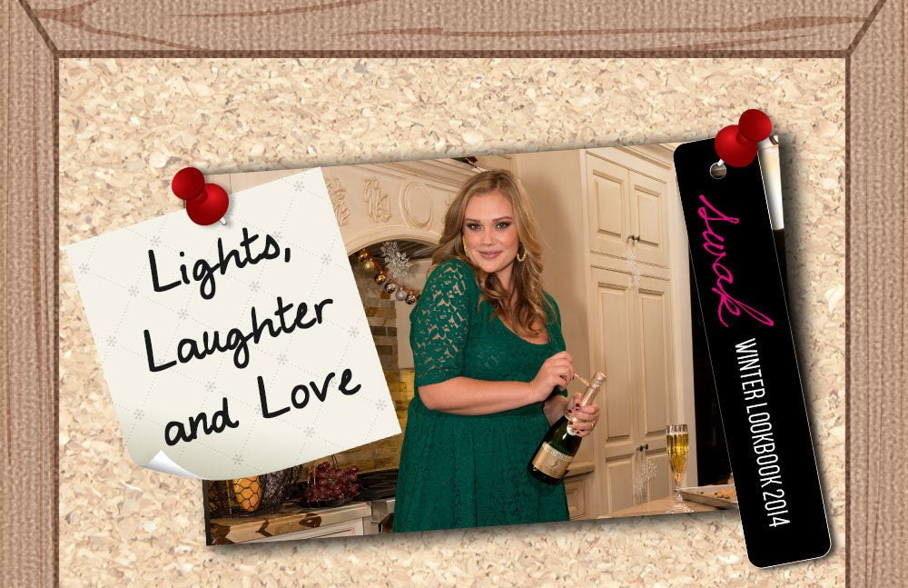 Plus Size Lights Laughter and Love
