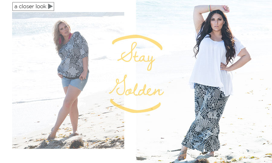 Stay Golden Plus Size Fashion