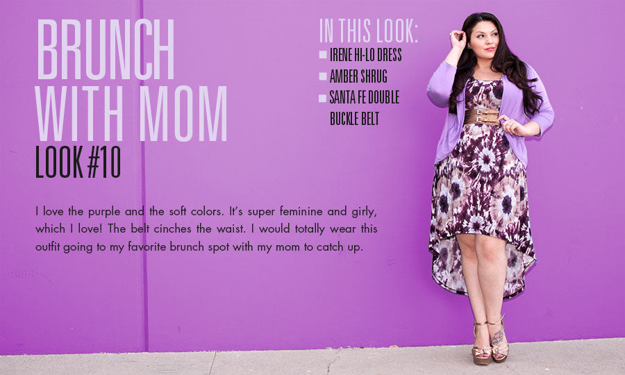 brunch with mom | plus size fashion