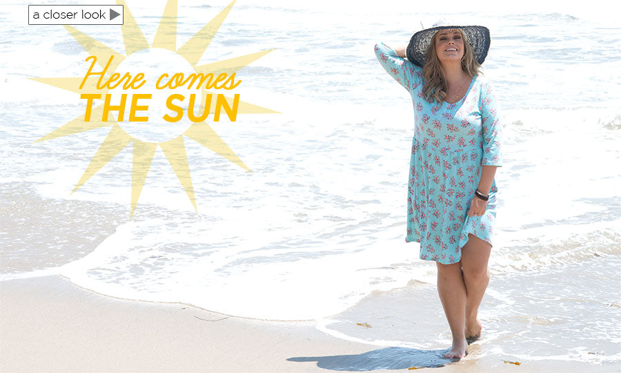 PLus Size Here Comes the Sun
