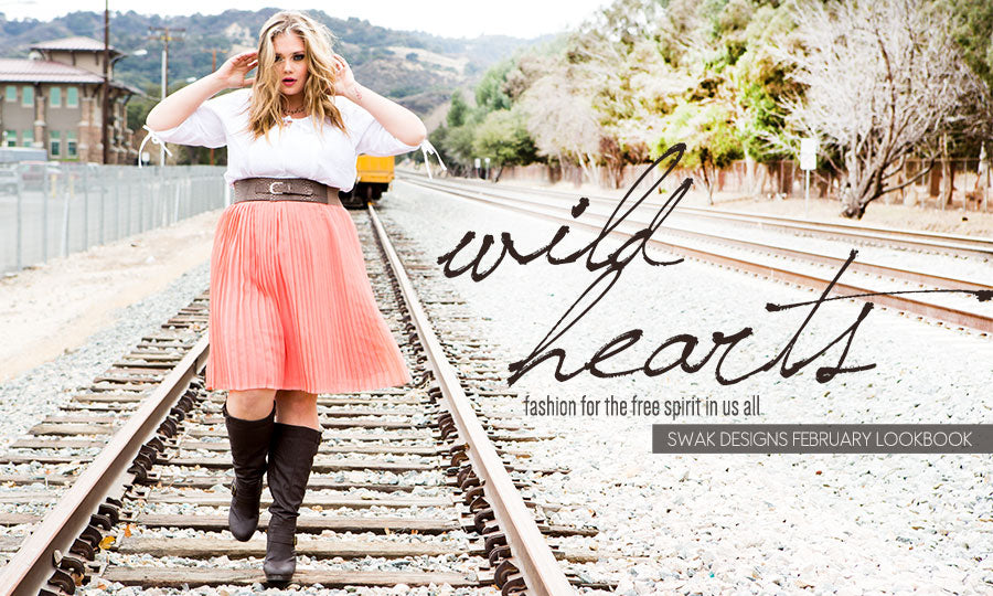 Plus Size Wild Hearts Lookbook