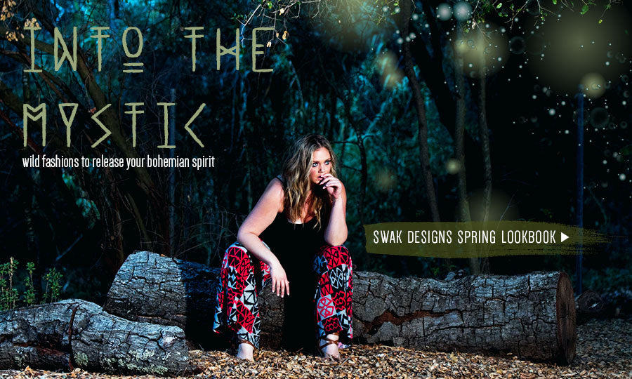 into the mystic plus size lookbook