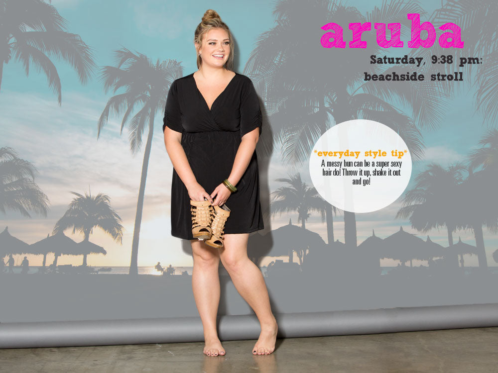 Plus Size Barefoot