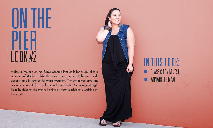 on the pier | plus size fashion