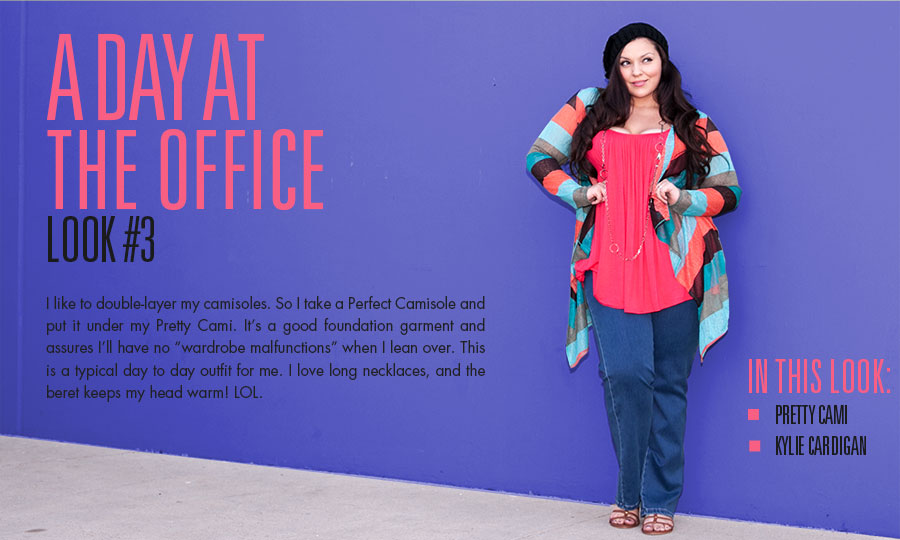 a day at the office | plus size fashion