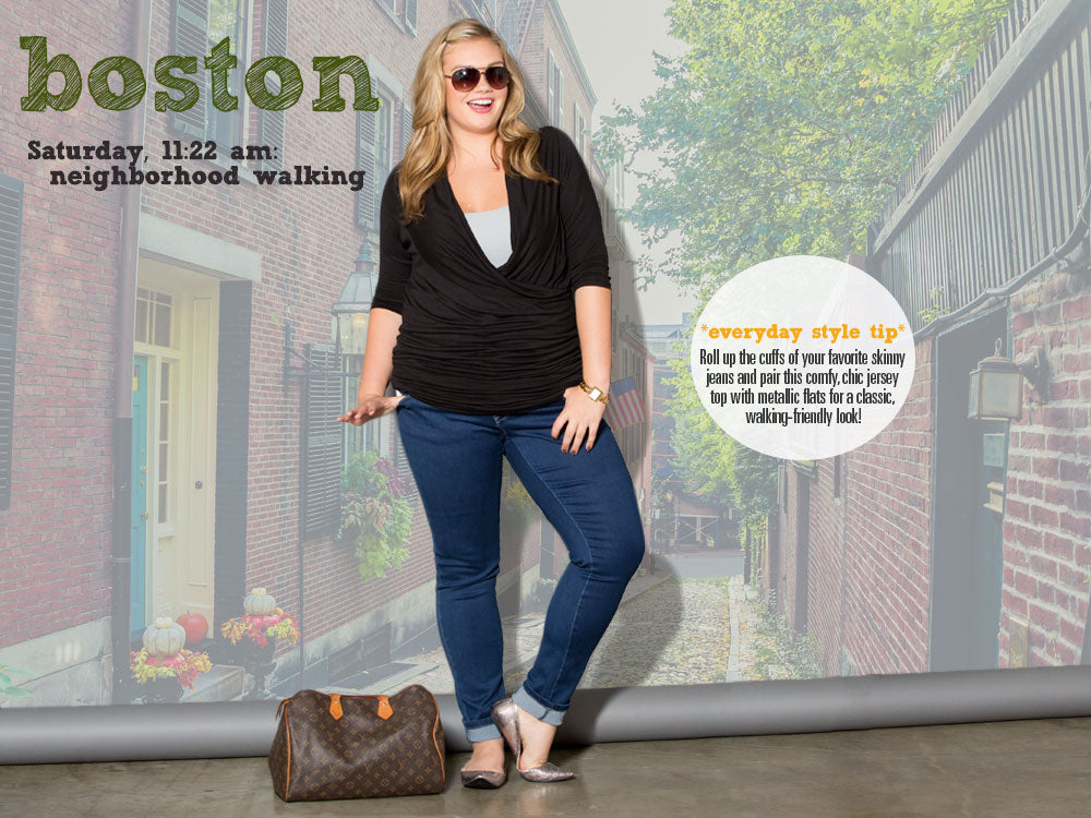 Plus Size Boston