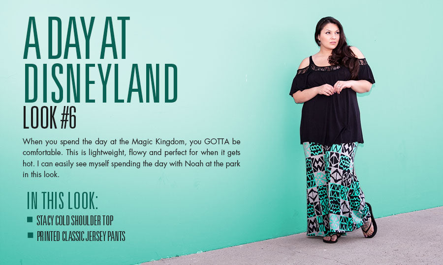A day at disneyland | plus size fashion