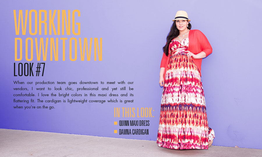 working downtown | plus size fashion